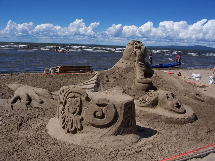 See This: Alberta Sand Sculpture Championships - July 26 #ExploreAB #yegDayTrips