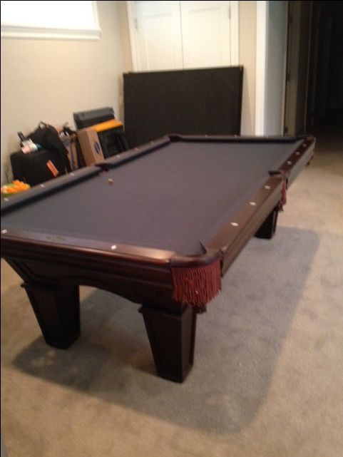 Brunswick Billiards Pool Table Sold Sold Used Pool Tables - Brunswick 9 foot pool table