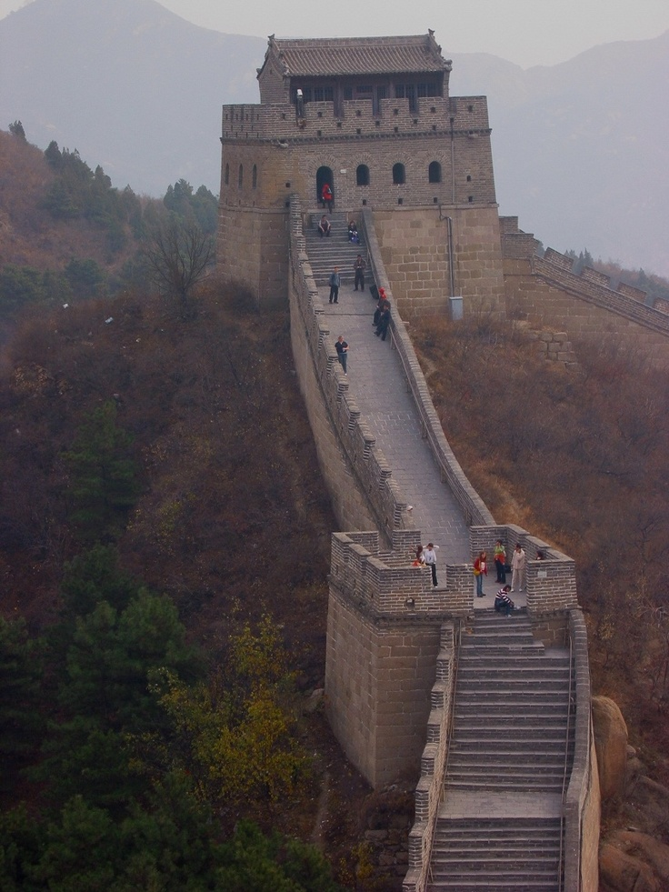"Step into China this week takes us to the country's capital - Beijing. Did you know there's a saying in China ""You're not a real man until you've been to the Great Wall.""? Have you visited yet?"