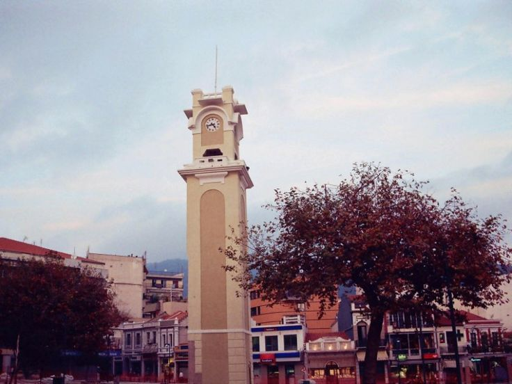 Xanthi ( Old clock ) through the eyes of kastanaras