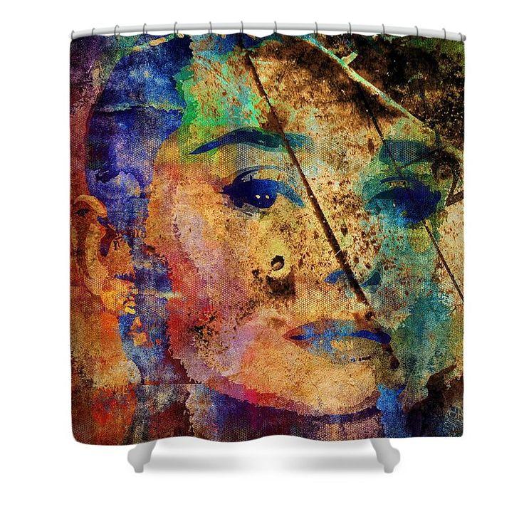 Shower curtain with Audrey Hepburn #AudreyHepburn #AudreyKathleenRuston #EddaVanHeemstra #AudreyFerrer #AudreyDotti #AudreyHepburnRuston #shower #curtain #showerCurtain #home #house #vector #popart #art #celebs #celebrity #peinture #pintura #pittura #Malerei #dessin #dibujo #disegno #zeichnung #kunst #konst #arte #taide #ealain #love