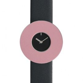 Vignelli Halo: This unique modern watch by Leila and Massimo Vignelli changes in appearance every time you put on a different colored aluminum ring. Available at bofb - best of both -