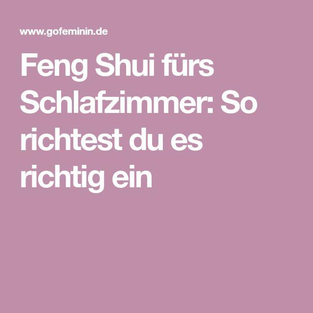 Besser Schlafen Dank Feng Shui: So Richtest Du Dein