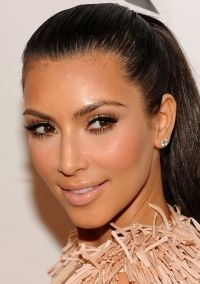 Bridal Makeup For Black Hair : 7 best images about Wedding Makeup for Black-Haired and ...