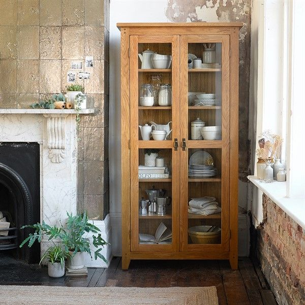 Oakland Glass Display Cabinet - The Cotswold Company ...