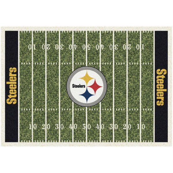 "Pittsburgh Steelers 64"" x 92"" Homefield Rug"