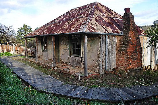 Ruins - Beyers cottage Hill End NSW
