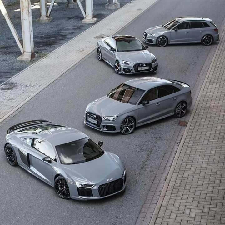Nardo grey. The most beautiful unique to Audi colour
