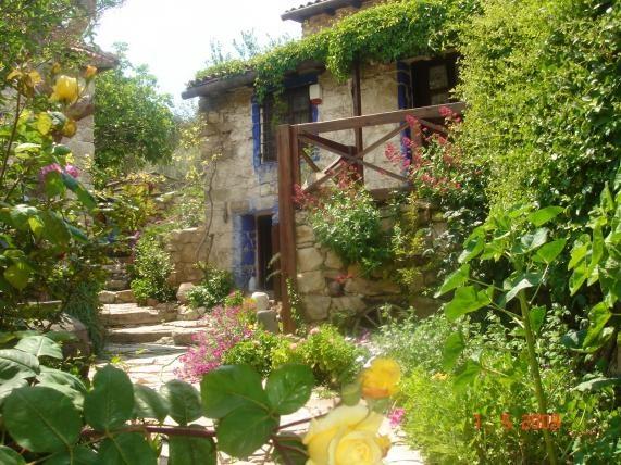 A stone house in Foça, Aegean Turkey