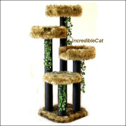 UNIQUE Cat FURNITURE Tree Best Cat Beds Designer by IncredibleCat