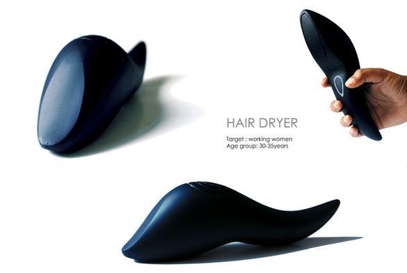 Travel hair dryer on Behance