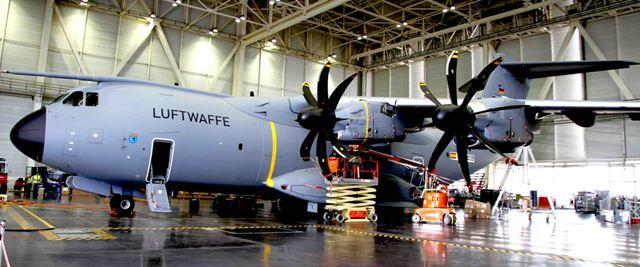 Tercer A400M para Alemania -noticias defensa.com