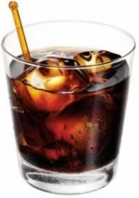 Dr. Pepper Cocktail (but contains no actual Dr. Pepper!) - Equal parts Kahlua, Amaretto and Southern Comfort over ice