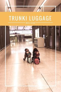 Trunki Luggage review: we love our trunki suitcases an we use them all the time on both shrt and long haul flights. They are great as carry on luggage and our kids love to sit on them, pull them as if their were little pets and ride them around airports. Find out in this review why we chose them as our go-to carry on luggage for family travel