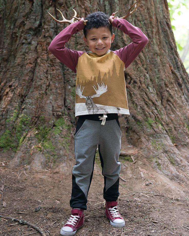 Explorer Pants | Boys Fall Collection | www.peekaboobeans.com
