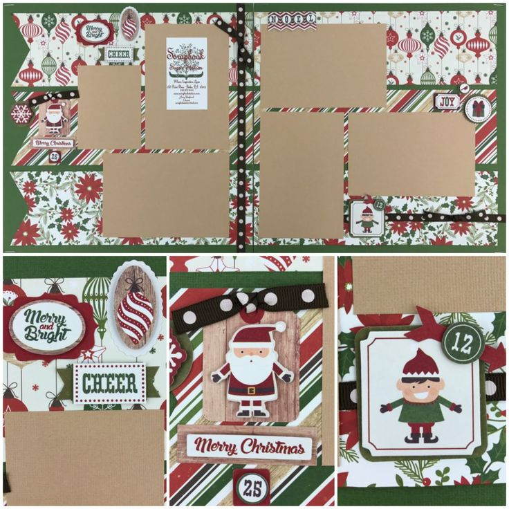 1000 ideas about scrapbook pages on pinterest scrapbook for Christmas layout ideas