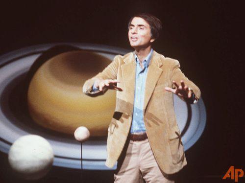 ¡Quién habla en nombre de la tierra! (Carl Sagan)