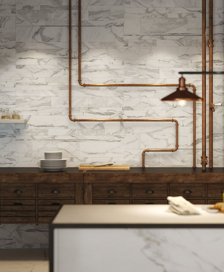 Indoor porcelain stoneware wall tiles with marble effect INFINITY | Wall tiles - CERAMICA FONDOVALLE