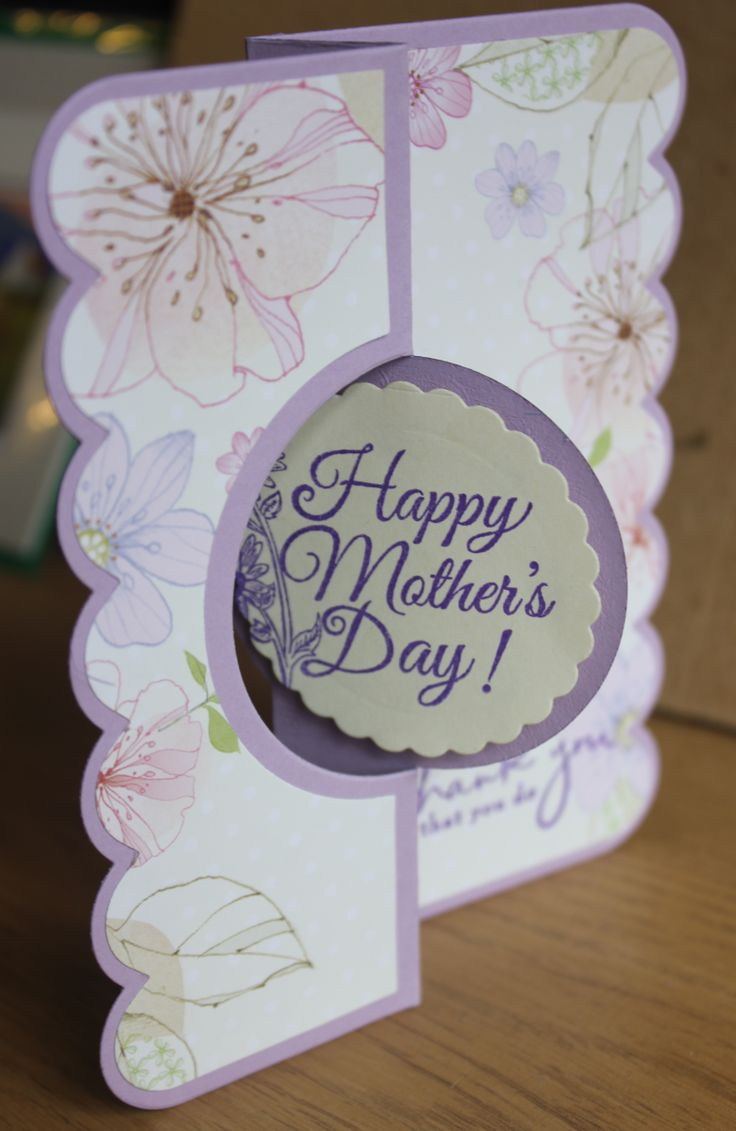 Just made this super cute Sizzix Flip-It Die Cut Mothers Day card! I LOVE Sizzix flip-it dies so much! They look super duper cute and you can even add a 3D effect in the middle section! My Mothers Day stamp was from Hobby Craft for only £1 and the flowery paper on the top layer was free in my card making and paper craft magazine! So a BARGAIN to make!
