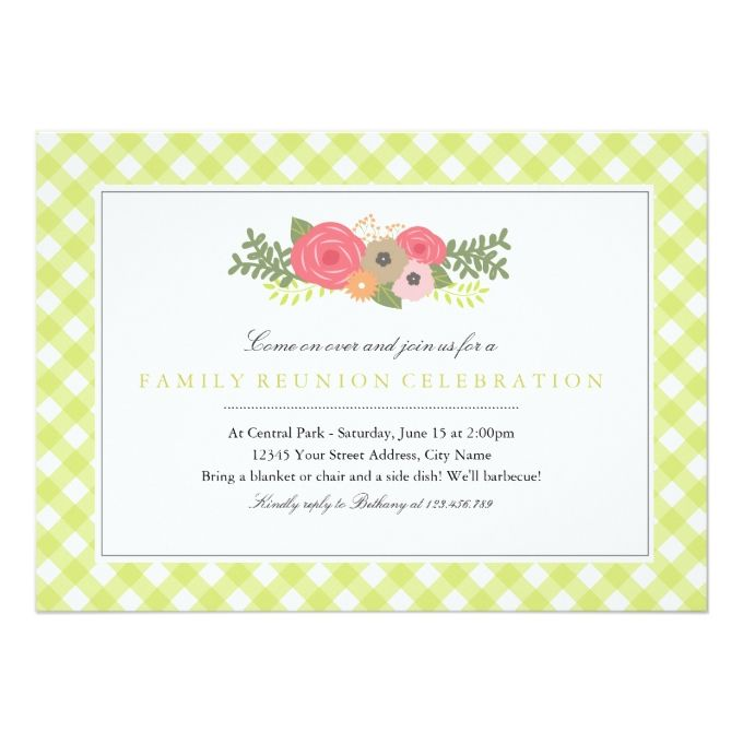 1494 best Reunion Party Invitations images – Reunion Party Invitations
