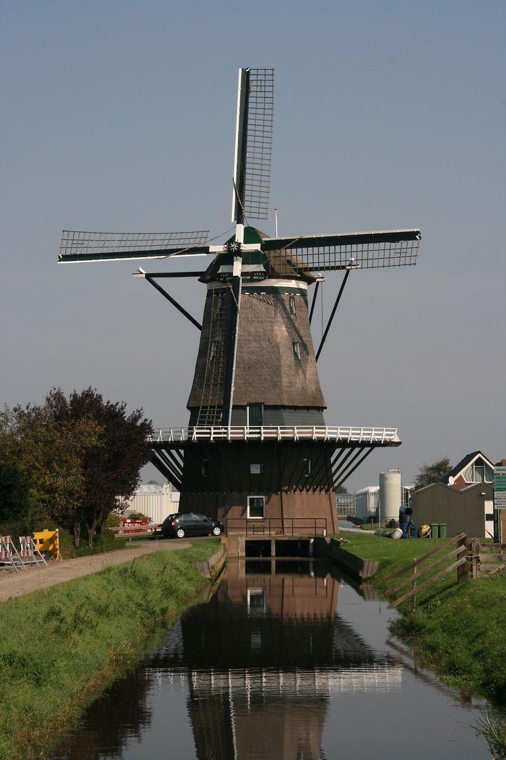 Hoek van Holland - De Nieuwlandse Molen. The Netherlands