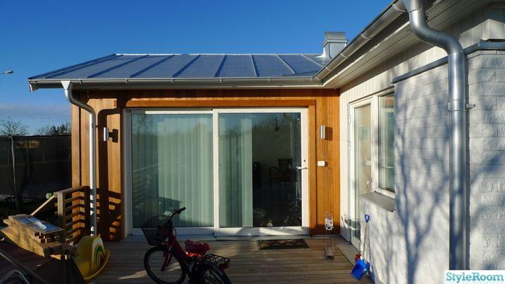Bildresultat för utbyggnad med uteplats på taket