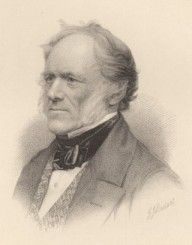 Scottish geologist Charles Lyell was one of the most profound scientific influences on Darwin and, after the Beagle voyage, a close friend.
