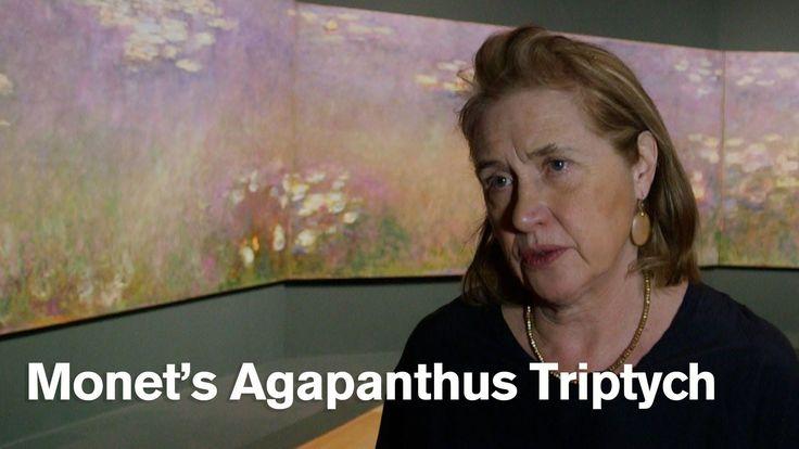 Claude Monet's Agapanthus Triptych