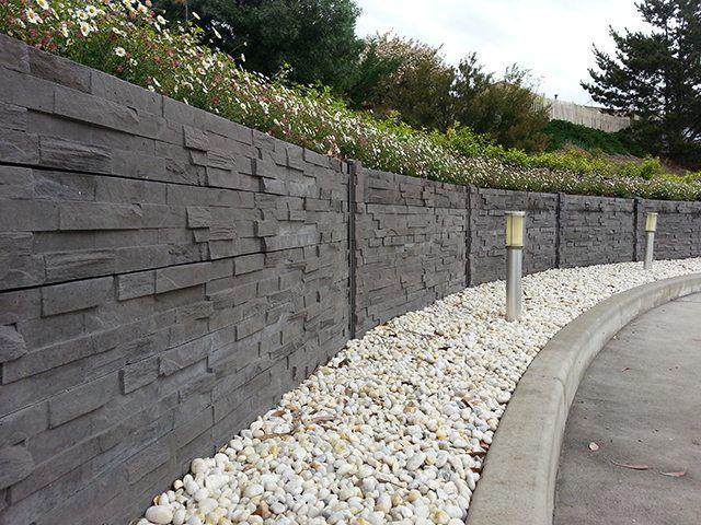 Concrete Fence Costs Concrete Fence Wall Concrete Retaining Walls Concrete Fence