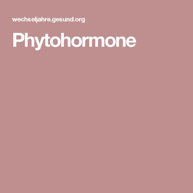 Phytohormone