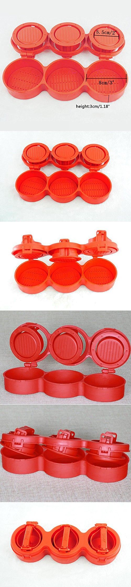 Hot Hamburger Mold Stufz Sliders Make up to 3 Stuffed Sliders at one time.Triple Burger Presses Hamburger Maker Patty Meat Maker