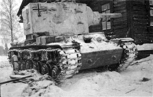 KВ-2 на службе  в Вермахте 1941
