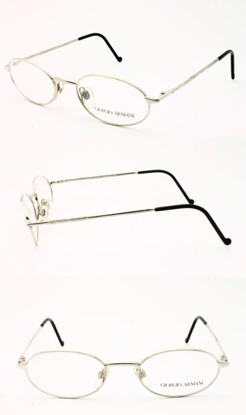66ca7e9493 Eyeglasses 175805  Vintage Giorgio Armani 265 707 Eyeglasses Size  50-19-135