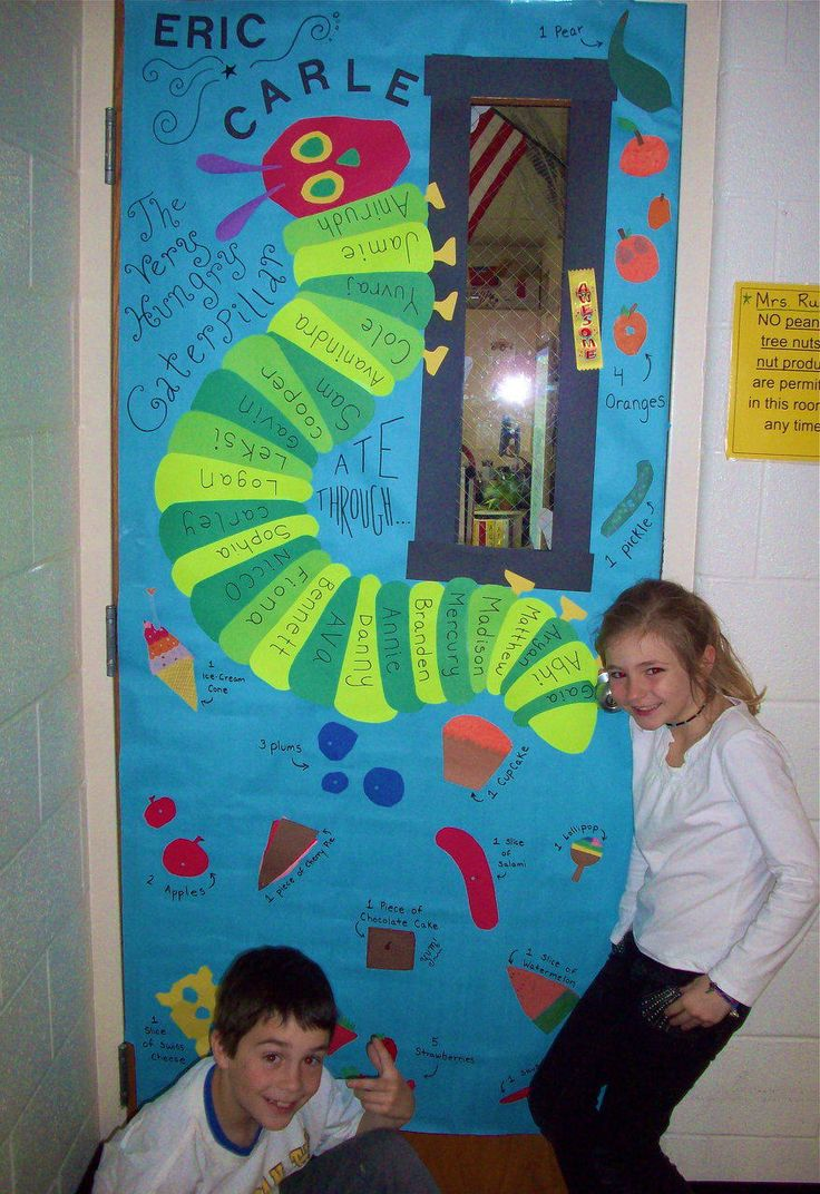 Classroom Door Decoration Ideas Rd Grade : Best images about eric carle themed classroom on