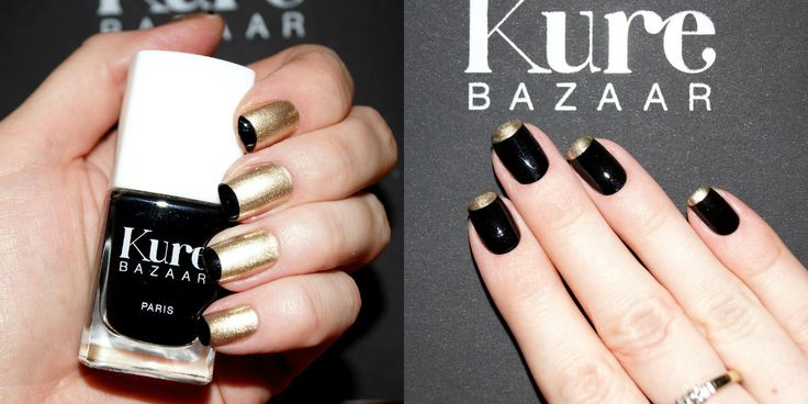Kure Bazaar Kohl, Or Pur swatches/ Лаки для ногтей Кьюр Базар отзывы