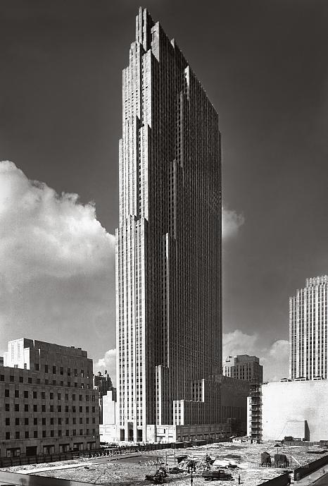 RCA Building, Rockefeller Center: New York City, New York 1933 September 1