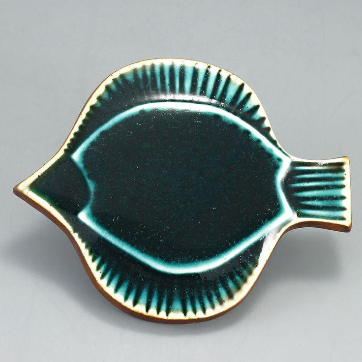 Gunvor Olin (Arabia 1960's) Charming fish wall plaque