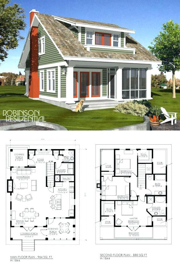 small lake house plans with screened porch lake cottage floor ...