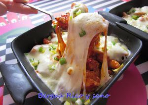 Chijeu-buldak: pollo de fuego coreano con queso | Cocina