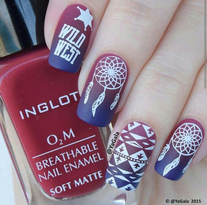 Dream catcher nail art, boho nails - Best 25+ Dream Catcher Nails Ideas On Pinterest Feather Nail Art