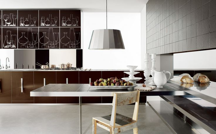 Lovely lines #Kitchen and #Living Rooms