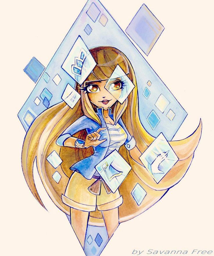 Lolirock talia by freesavanna on deviantart disney 39 s channel lolirock anime art magical - Comment dessiner les winx ...