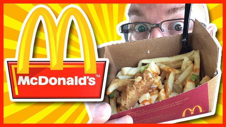 "McDonald's ♥ Buffalo Chicken Poutine - ""SPICY CHICKEN!"""