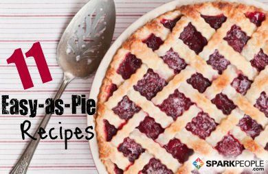 11 Lighter #Summer Pies - You'll find a new favorite for the 4th here!   via @SparkPeople #recipe