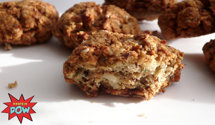 Anzac Protein Biscuits :-)