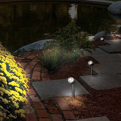 Solar Garden Spotlight - Frontgate