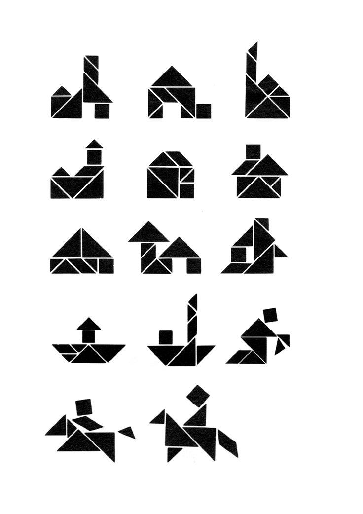 oplossingen thema sint tangram