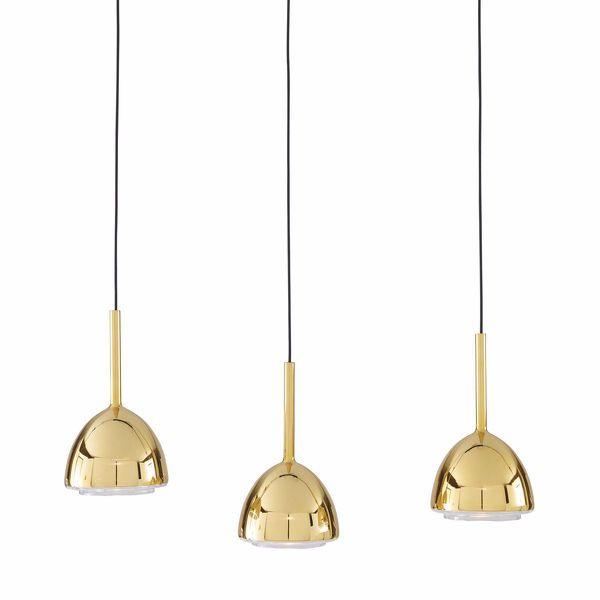 Brass Bell Suspension Lamp - design Hiroshi Kawano - Ligne Roset