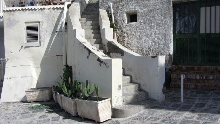 Corricella, stairs, Procida (NA)