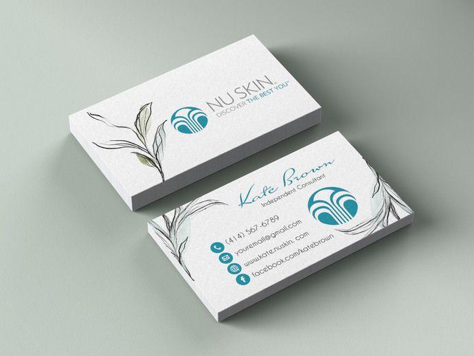 Nuskin Business Cards Personalized Nuskin Business Cards Ns02 By Kdesigndigital 8 08 Usd Arbonne Business Cards Cards Personalised